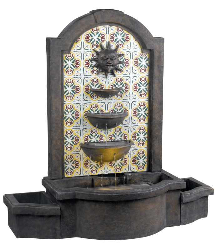 "Kenroy Home 50721 Cascada 45.25"" High Outdoor Floor Fountain Madrid Sale $592.20 ITEM: bci1275429 ID#:50721MD UPC: 53392078751 :"