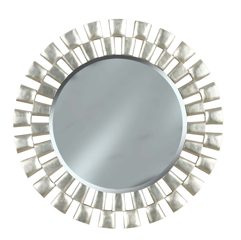 Kenroy Home 60019 Gilbert Circular Mirror Silver Home Decor Lighting Sale $214.20 ITEM: bci1328216 ID#:60019 UPC: 53392047788 :