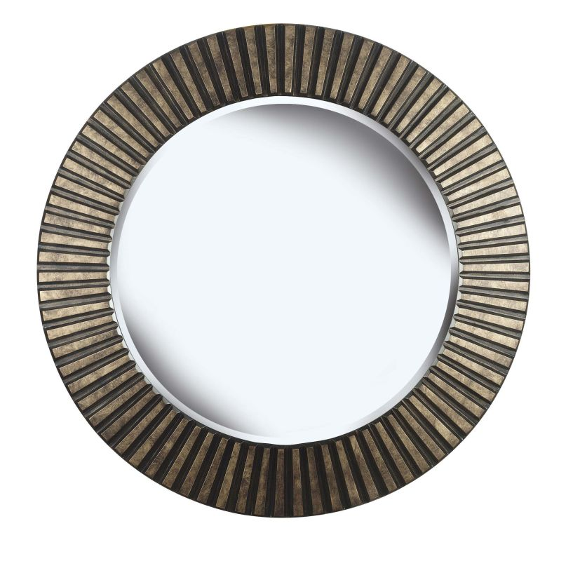 Kenroy Home 60021 North Beach Beveled Round Mirror Bronze Home Decor Sale $214.20 ITEM: bci1328217 ID#:60021 UPC: 53392048501 :