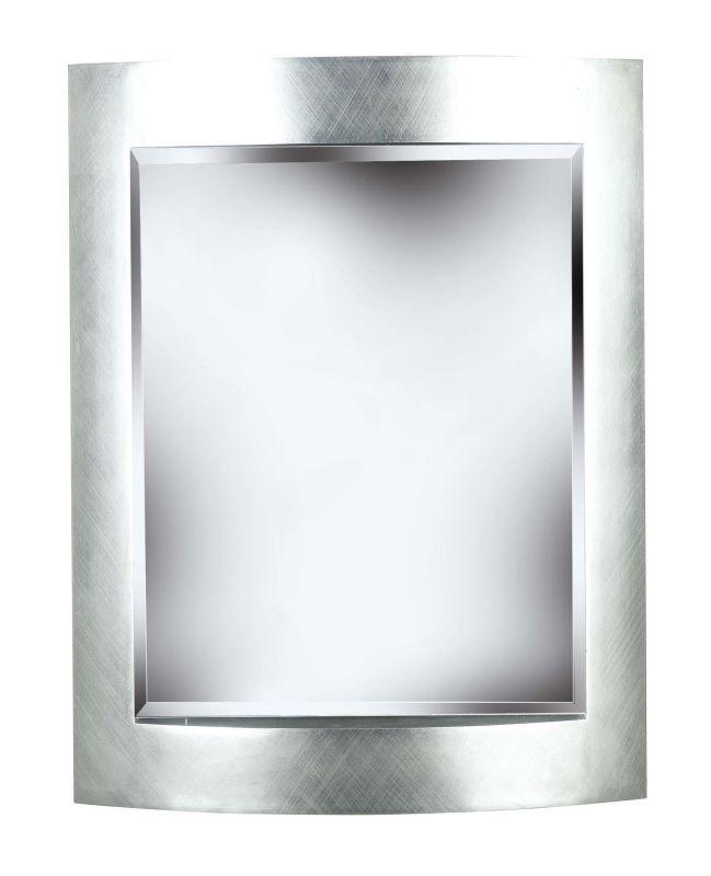Kenroy Home 60036 Sacramento Beveled Rectangular Mirror Silver Home