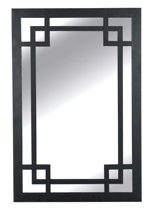 Kenroy Home 60097 Jacob Rectangular Mirror Dark Bronze Home Decor