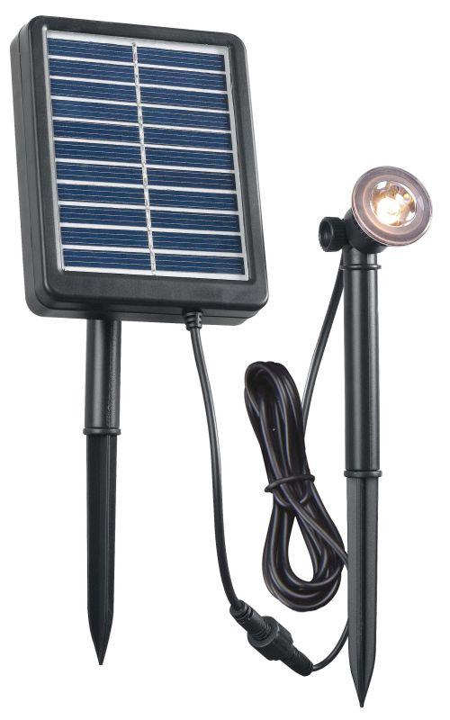 Kenroy Home 60501 Seriously Solar 1W Light Solar Lighting Black