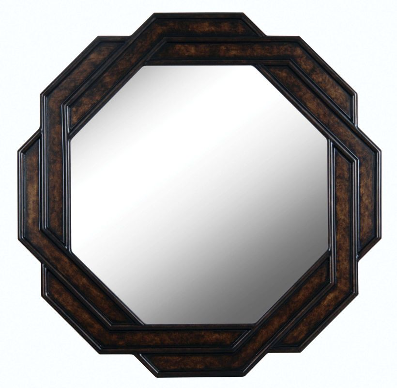 Kenroy Home 61004 Interchange Specialty Mirror Dark brown Home Decor