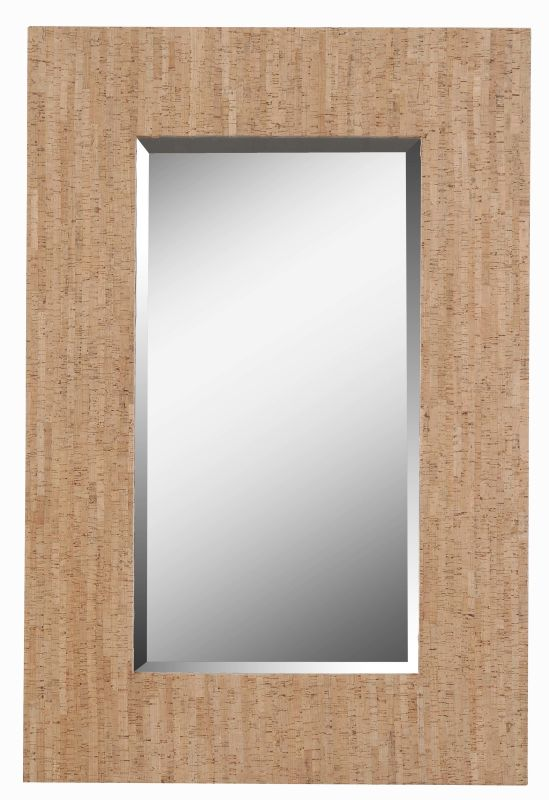Kenroy Home 61014 Corkage Beveled Rectangular Mirror Natural Cork Home Sale $199.80 ITEM: bci2406362 ID#:61014 UPC: 53392001537 :