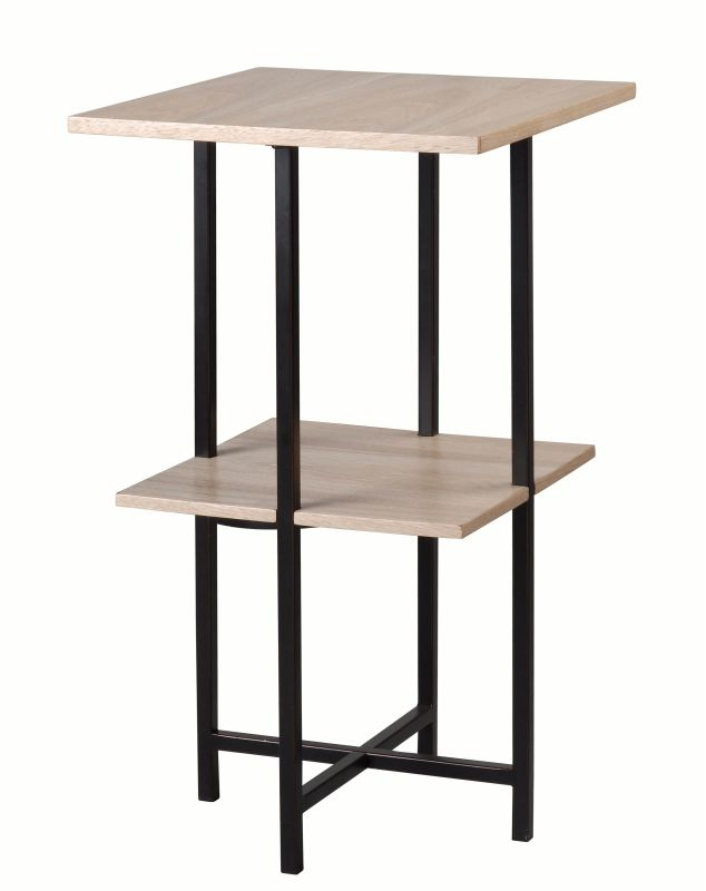 "Kenroy Home 65014 Storit 26"" Tall Accent Table Oil Rubbed Bronze"