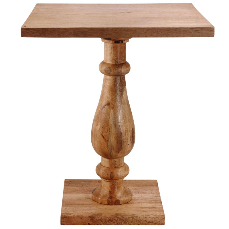 Kenroy Home 65033 Tango Wood Table Natural Sanded Furniture End Tables