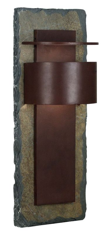 Kenroy Home 70287SL Pembrooke 1 Light Extra Large Outdoor Wall Sconce