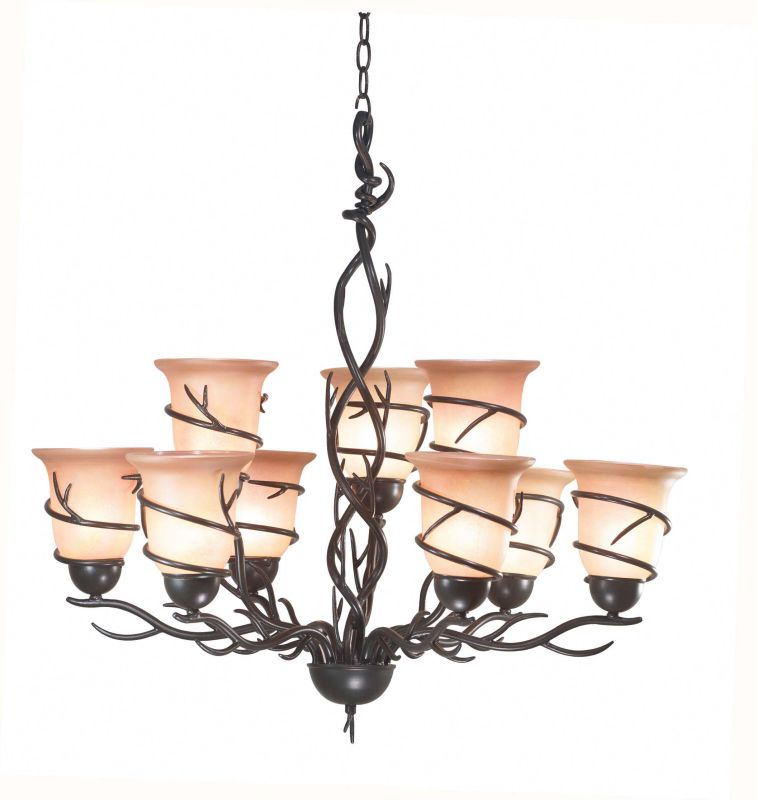 Kenroy Home 90909 Twigs 9 Light 2 Tier Chandelier Bronze Indoor Sale $496.80 ITEM: bci907043 ID#:90909BRZ UPC: 53392181239 :