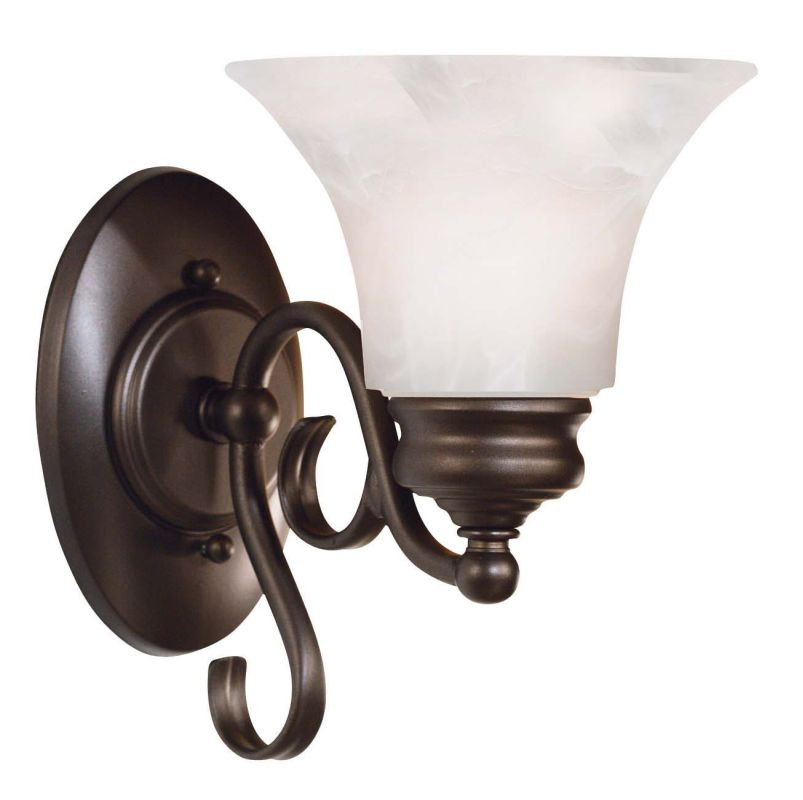 Kenroy Home 91391 Wynwood 1 Light Wall Sconce Burnished Bronze Indoor Sale $48.60 ITEM: bci907165 ID#:91391BBZ UPC: 53392169787 :