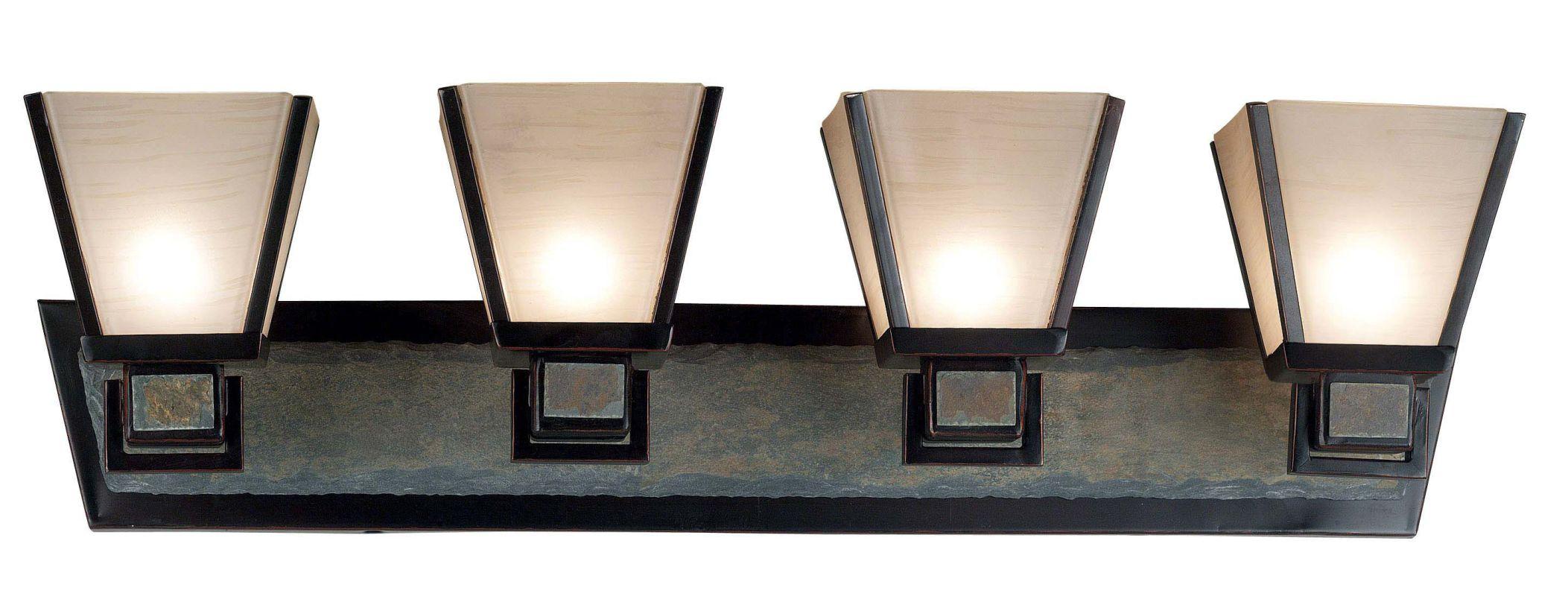 Kenroy Home 91604 Clean Slate 4 Light Bathroom Vanity Light Oil Rubbed Sale $369.00 ITEM: bci907226 ID#:91604ORB UPC: 53392086251 :