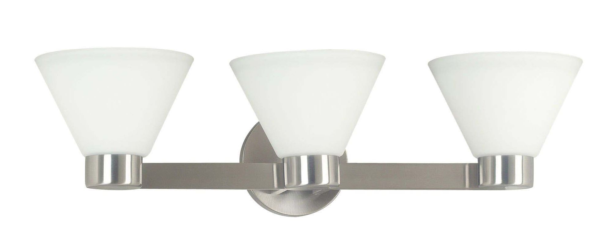Kenroy Home 91793 Maxwell 3 Light Wall Sconce Brushed Steel Indoor Sale $99.00 ITEM: bci1328313 ID#:91793BS UPC: 53392043575 :