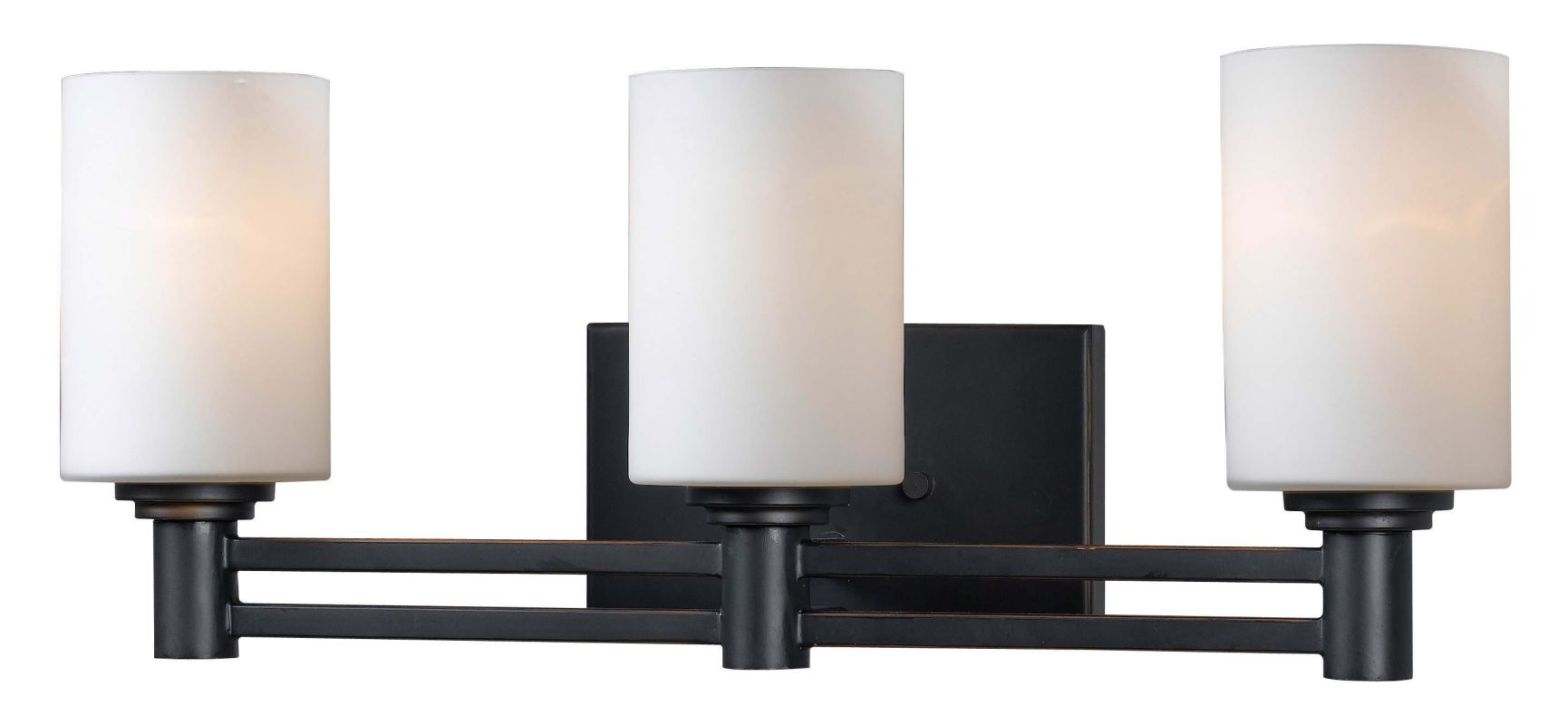 Kenroy Home 91933 Slender 3 Light Wall Sconce Oil Rubbed Bronze Indoor