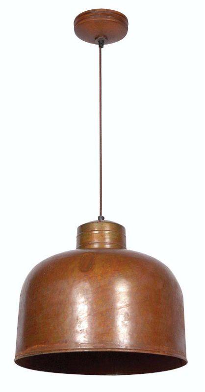 Kenroy Home 92071 Chambers 1 Light Full Sized Pendant Rust Indoor