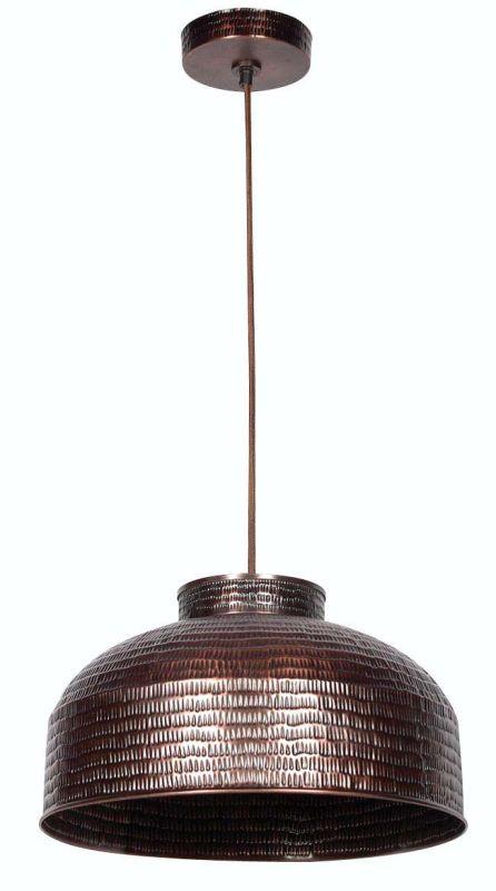 Kenroy Home 92092 Detail 1 Light Full Sized Pendant Copper Indoor