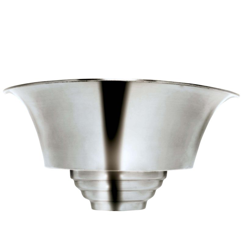Kenroy Home 92097 Spinnaker 1 Light Wall Washer Sconce Brushed Steel