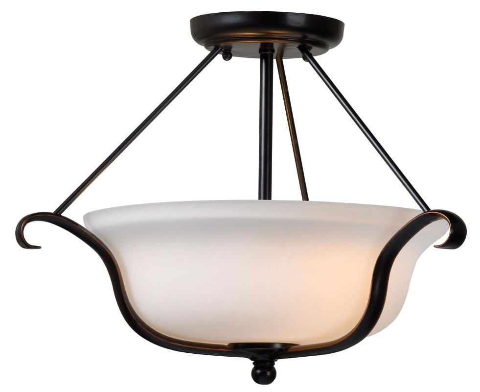Kenroy Home 93117 Basket 2 Light Semi-Flush Ceiling Fixture Oil Rubbed Sale $99.00 ITEM: bci2196418 ID#:93117ORB UPC: 53392036607 :