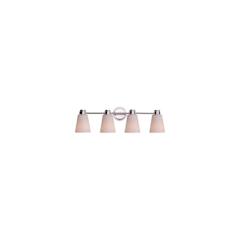 Kenroy Home 93474 Rockdale 4 Light Bathroom Vanity Light Polished Sale $119.00 ITEM: bci2607677 ID#:93474PN UPC: 53392066505 :