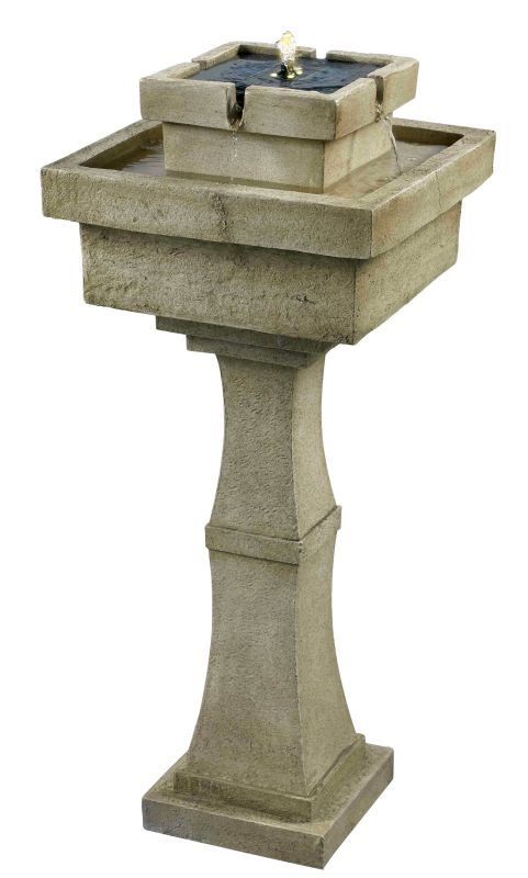 """Kenroy Home 50193 Sherwood 6"""" High Outdoor LED Free Standing Fountain"""