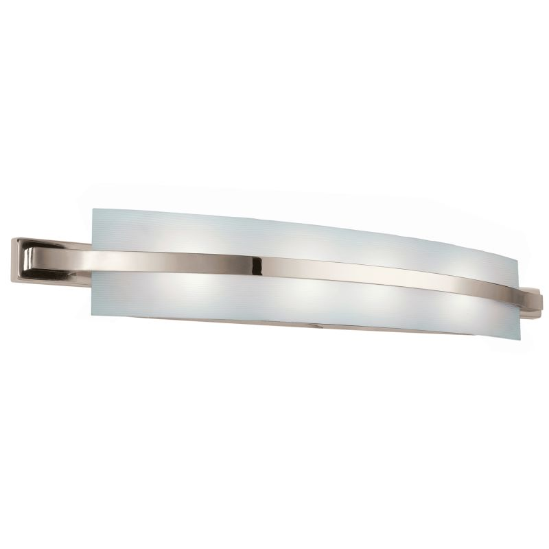 energy bathroom lighting kichler 10688pn polished nickel freeport energy 18240