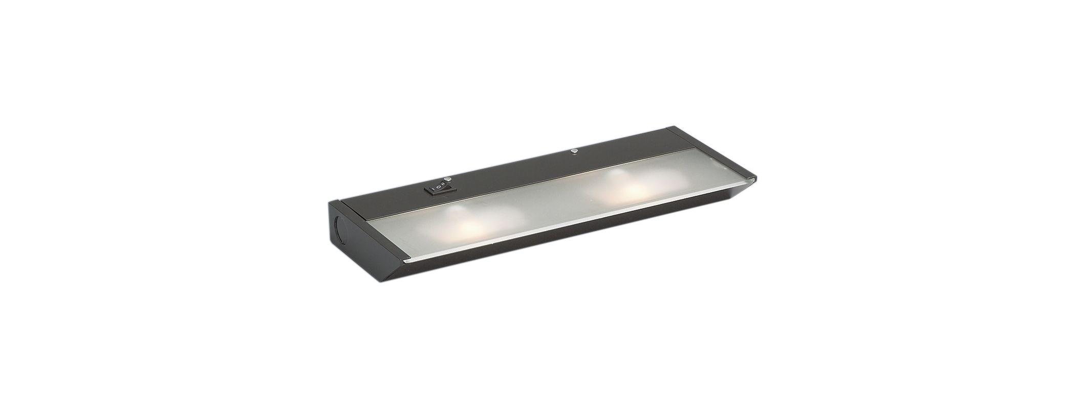 """Kichler 12012 TaskWork Direct Wire 2 Light 12"""" Under Cabinet Light -"""
