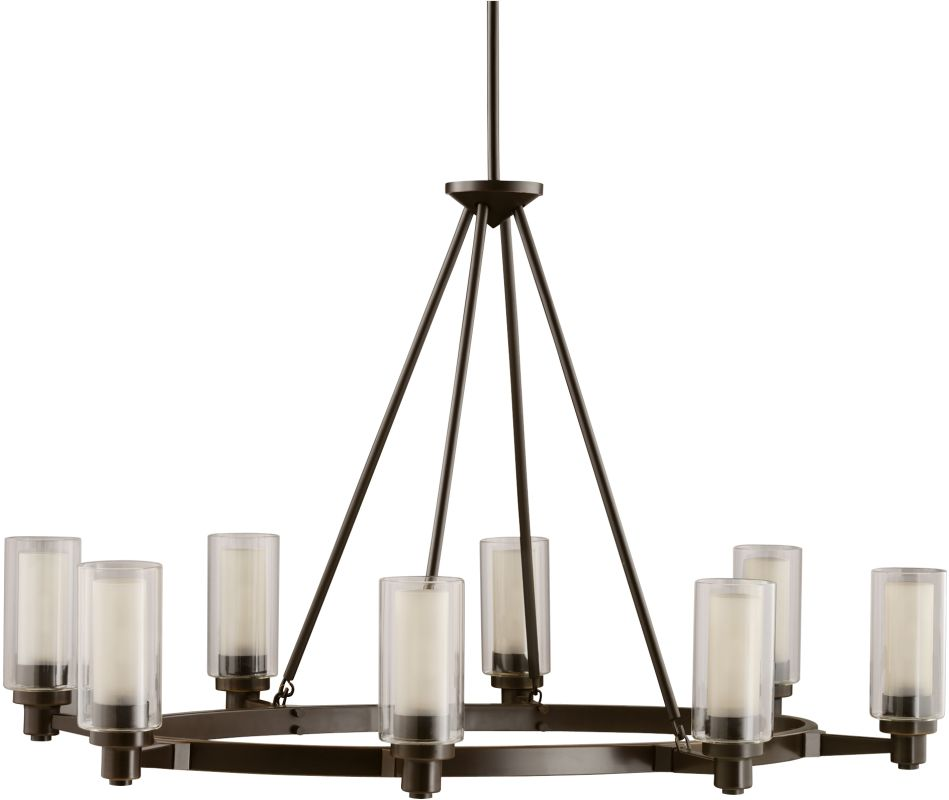 Kichler 2345OZ Olde Bronze Contemporary Circolo Chandelier