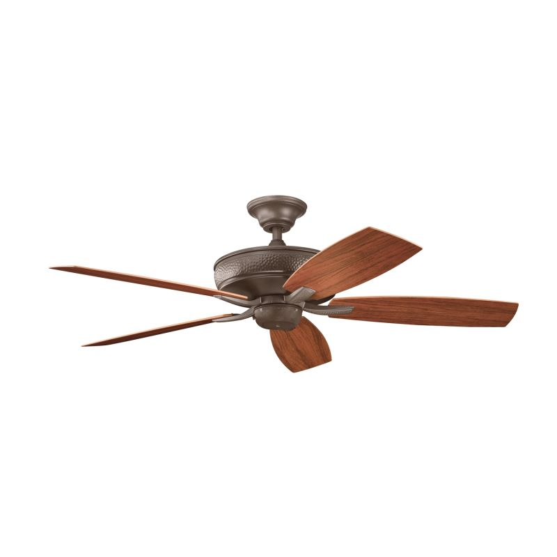 "Kichler 310103 52"" Indoor Ceiling Fan with Blades Downrod and Remote"