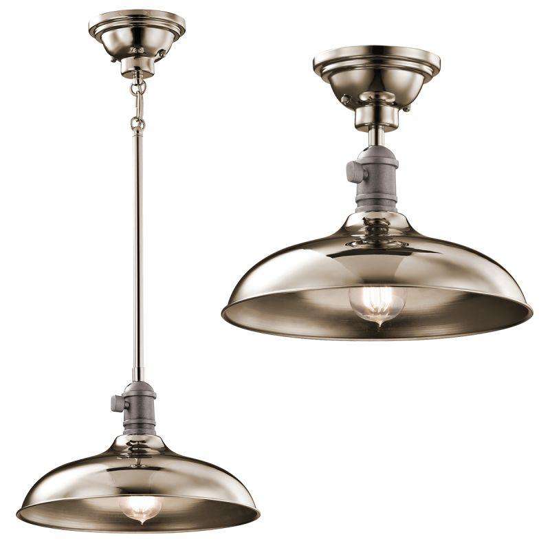 "Kichler 42580 Cobson Pendant Light / Ceiling Light - 12"" Wide"