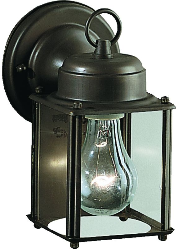 "Kichler 9611 1 Light 8"" Outdoor Wall Light Olde Bronze Outdoor"