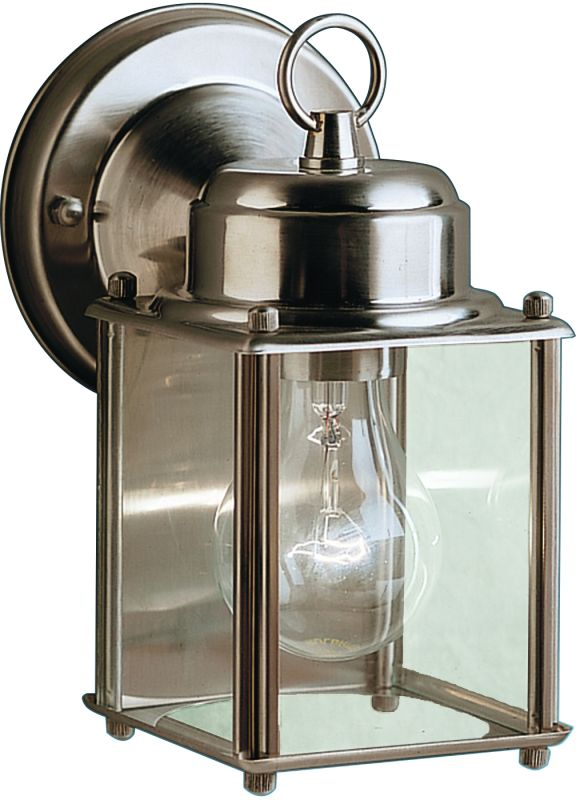 "Kichler 9611 1 Light 8"" Outdoor Wall Light Stainless Steel Outdoor"