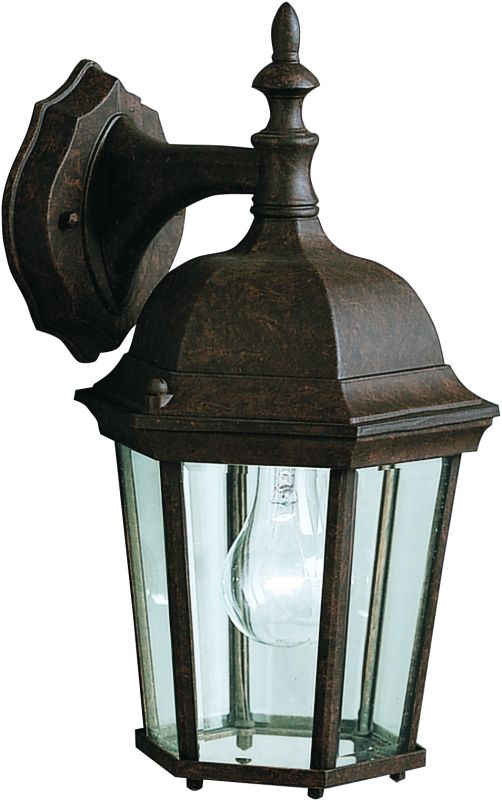 "Kichler 9650 Madison Single Light 15"" Tall Outdoor Wall Sconce with"