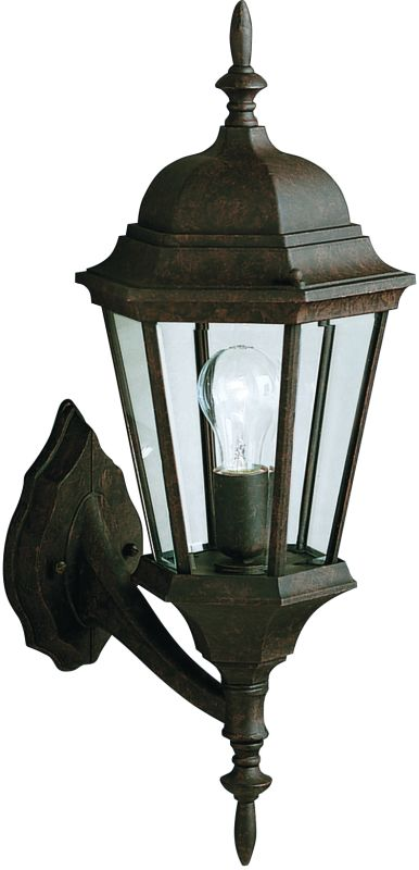 """Kichler 9653 Madison Single Light 20"""" Tall Outdoor Wall Sconce with"""