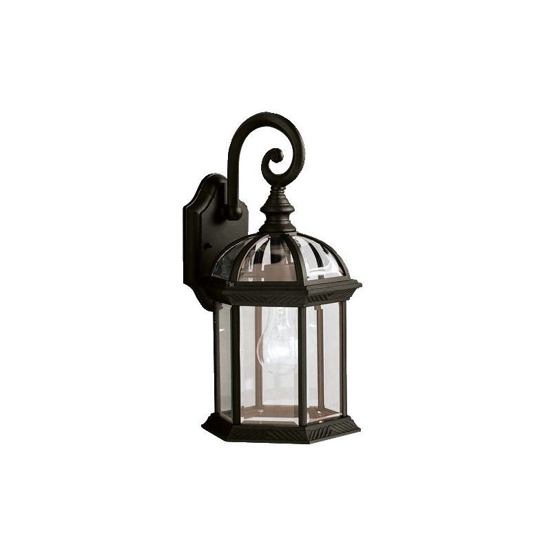 "Kichler 9735 Barrie Single 16"" Tall Light Outdoor Wall Sconce with"