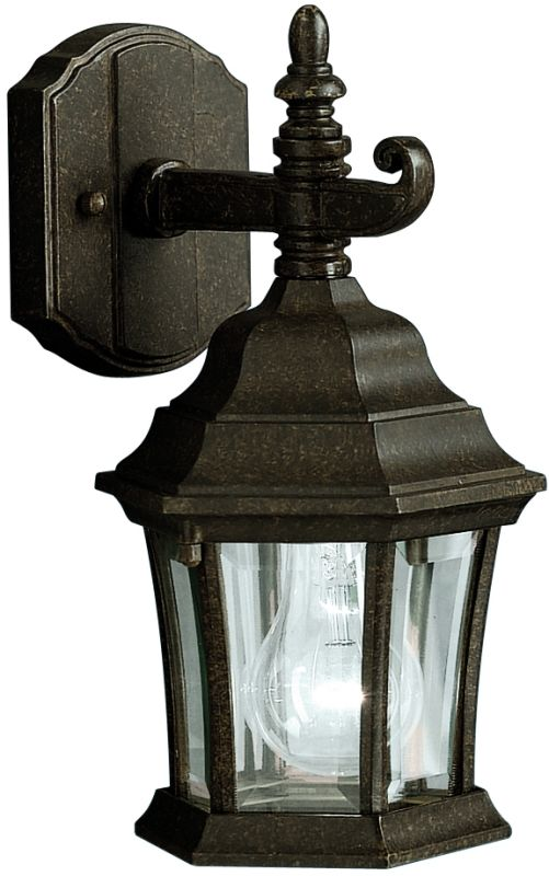 "Kichler 9788 Townhouse Collection 1 Light 12"" Outdoor Wall Light"