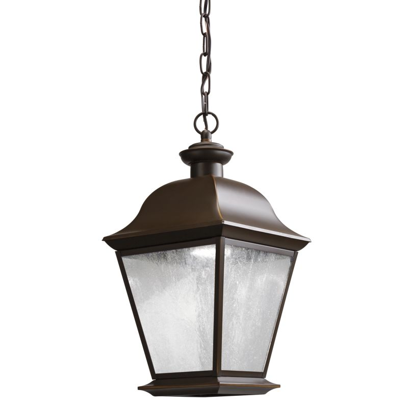 Kichler 9809LED Mount Vernon LED Outdoor Pendant Olde Bronze Outdoor