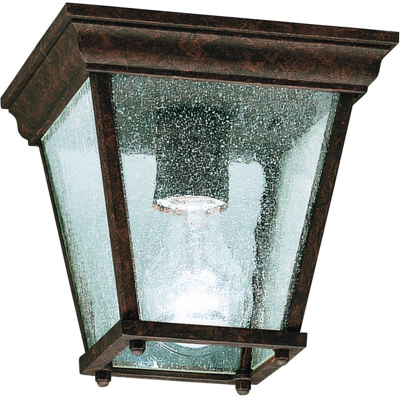 Kichler 9859 1 Light Outdoor Ceiling Fixture Tannery Bronze Outdoor