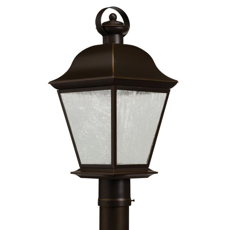Kichler 9909LED Mount Vernon LED Post Light Olde Bronze Outdoor