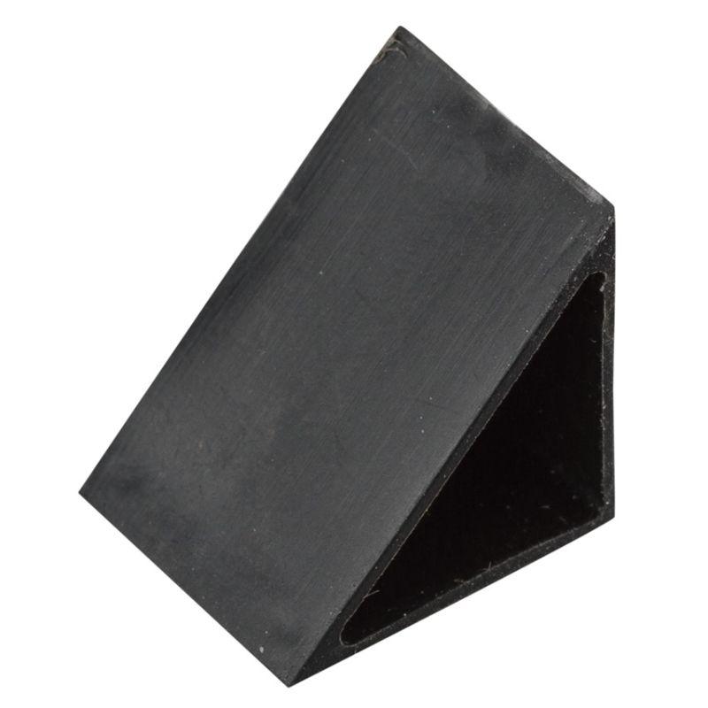 Kichler 10178 45 Degree End Caps for Tape Light Tracks - 5 Pack Black