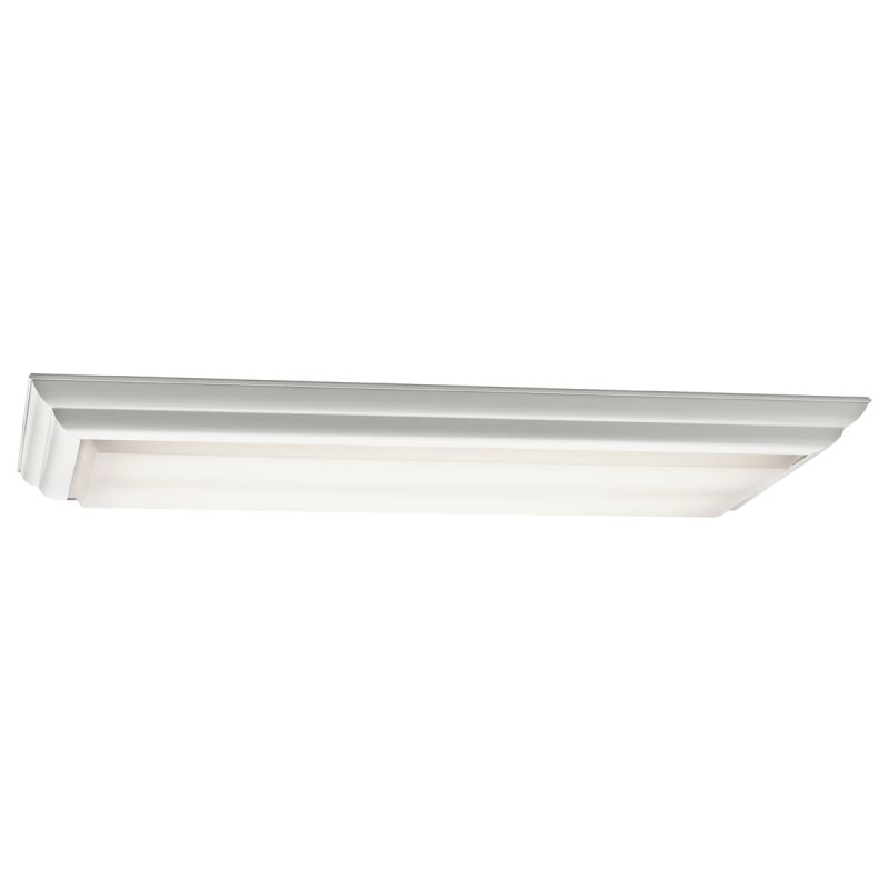 Kichler 10314 4 Light Flush Mount Indoor Ceiling Fixture White Indoor