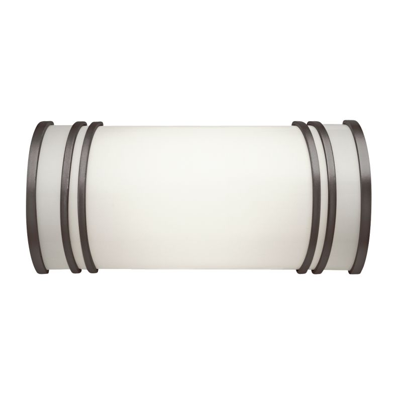 "Kichler 10328 Energy Star Rated 12.75"" Wide 2-Bulb Bathroom Lighting"