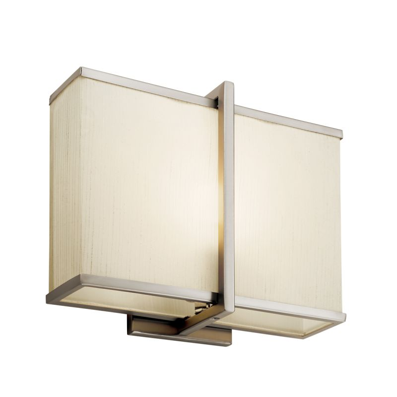 Kichler 10421SN Satin Nickel Contemporary Rigel Wall Sconce