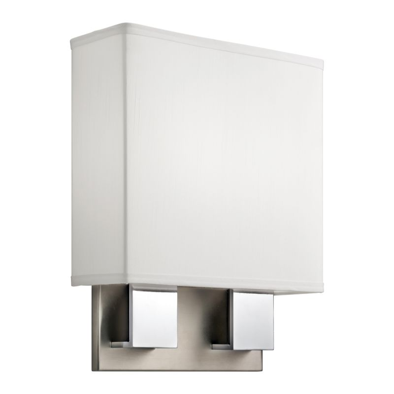 Kichler 10439 2 Light Fluorescent Up Lighting Wall Sconce from the Sale $198.00 ITEM: bci1738804 ID#:10439NCH UPC: 783927343619 :