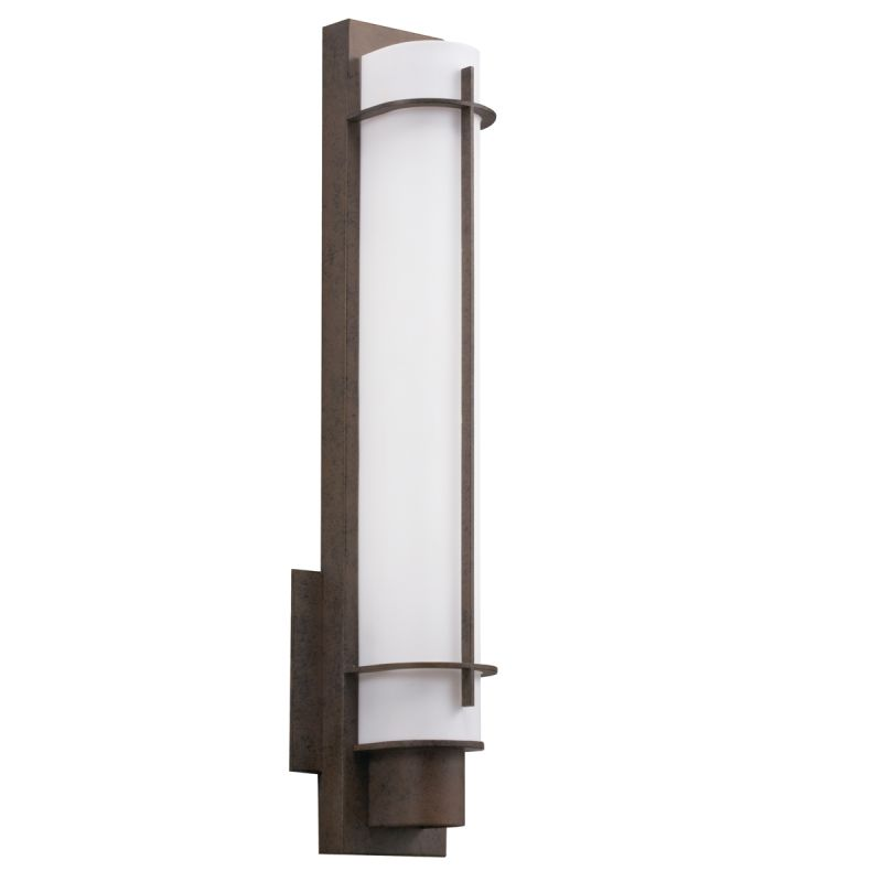 Kichler 10448 1 Light 24 Watt Fluorescent Wall Sconce from the Visalia Sale $190.00 ITEM: bci1738816 ID#:10448OZ UPC: 783927343572 :