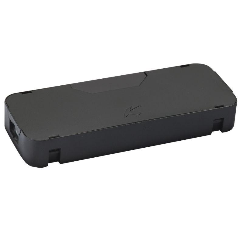 Kichler 10570 Wire Module Box for Light Bars Black Indoor Lighting