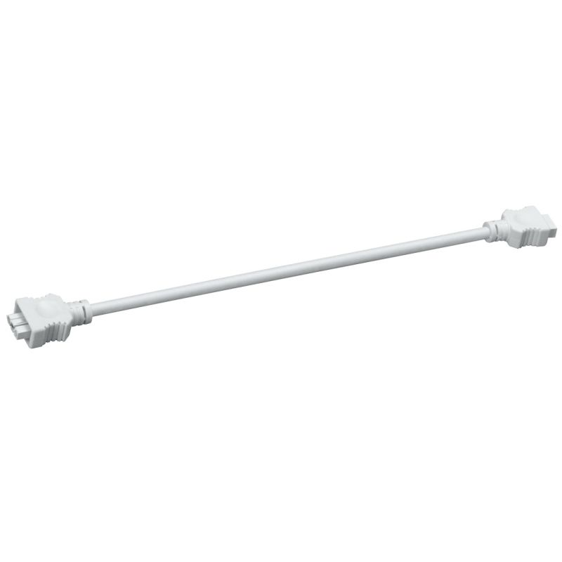 "Kichler 10572 14"" Connector Cable for Light Bars White Indoor Lighting"