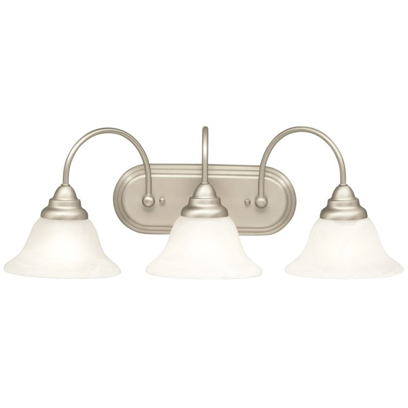 "Kichler 10609 Telford Energy Star Rated 36"" Wide 3-Bulb Bathroom"