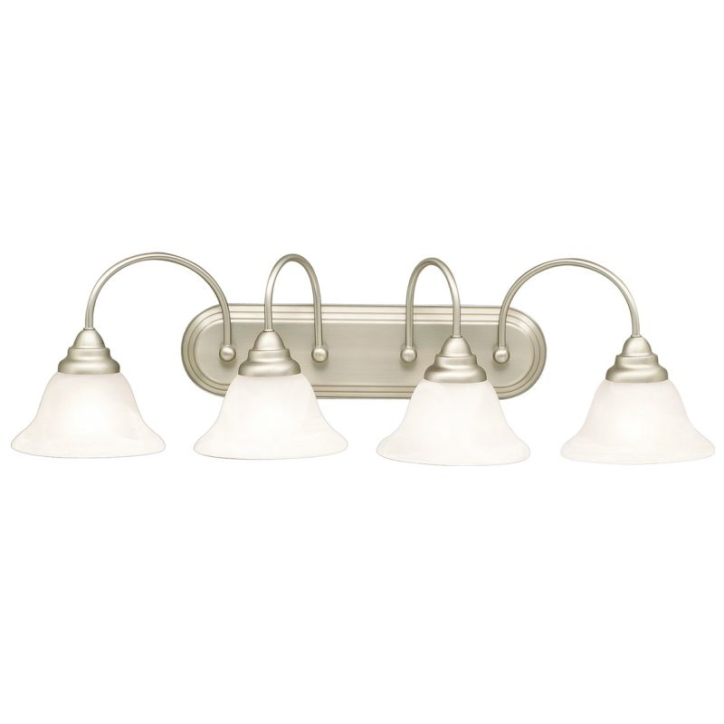 "Kichler 10610 Telford Energy Star Rated 33.5"" Wide 4-Bulb Bathroom"