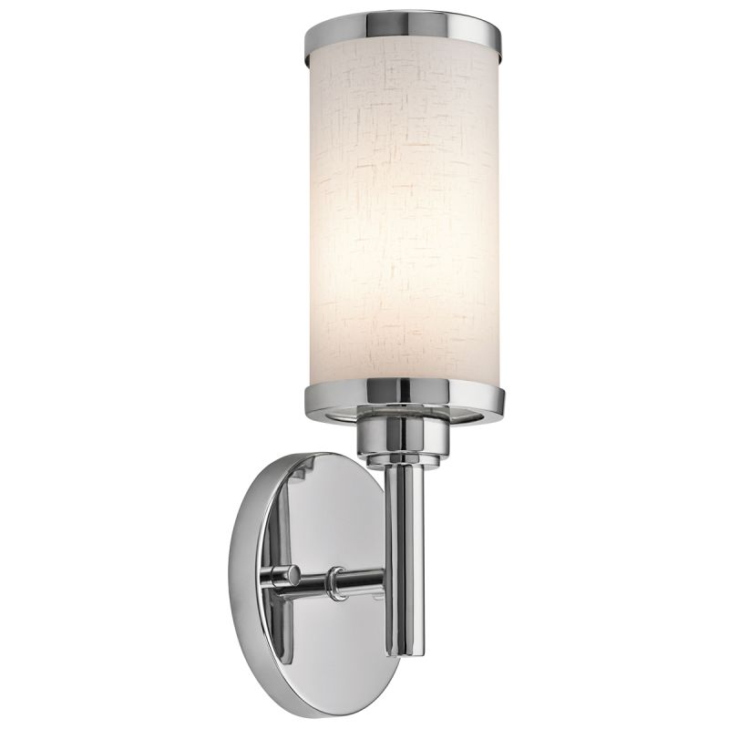 Wall Bracket For Light : Kichler 10680CH Chrome ADA 1 Light Fluorescent Wall Sconce - LightingDirect.com
