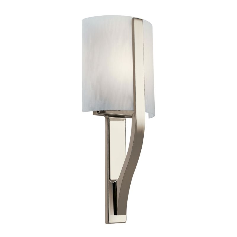 Kichler 10686PN Polished Nickel Contemporary Freeport Wall Sconce