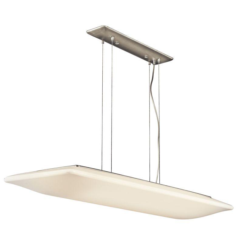 Kichler 10709 Ara Single-Tier Linear Chandelier with 4 Lights - Stem