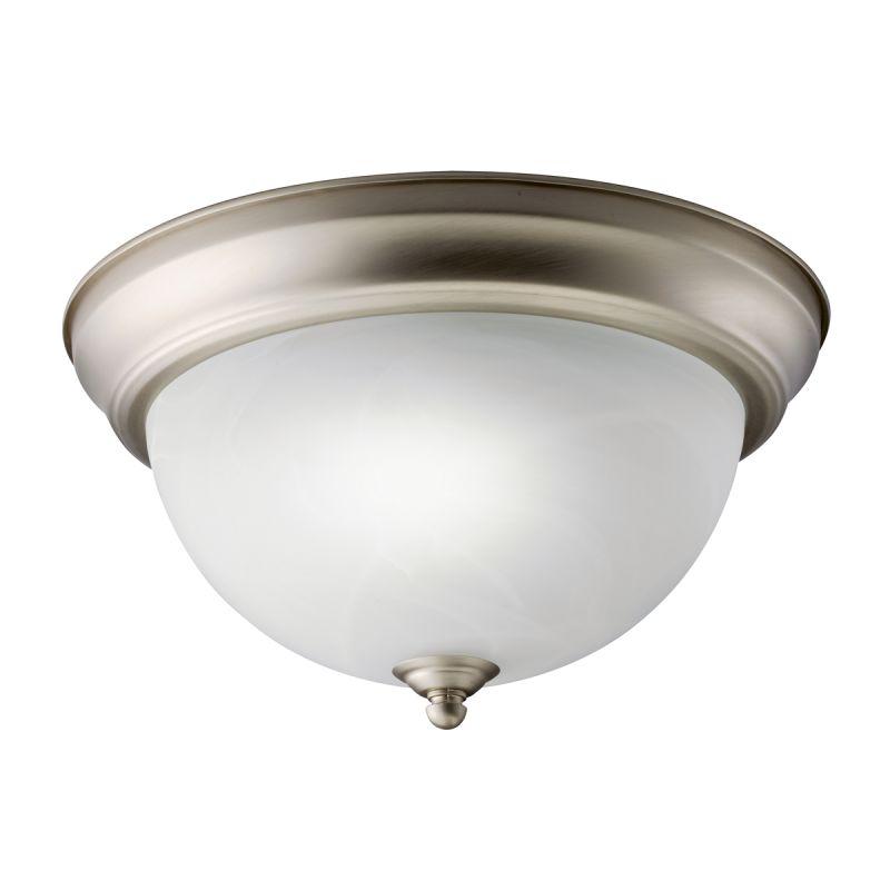 Kichler 10835 Senna 1 Light Flush Mount Indoor Ceiling Fixture Brushed